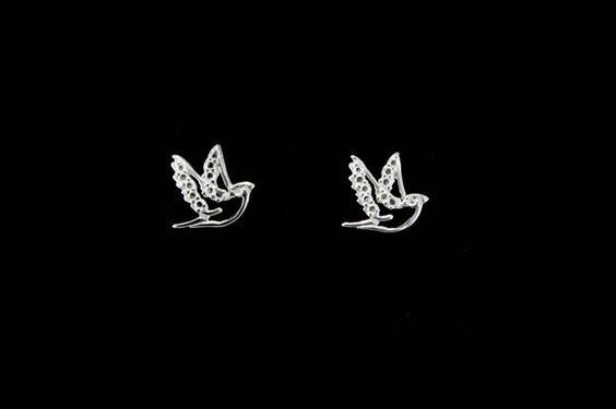Brinco Pássaro - Bela Prata