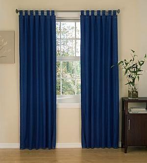 indigo blue curtains | DENIM PANEL CURTAIN | Curtain Design | BR ...