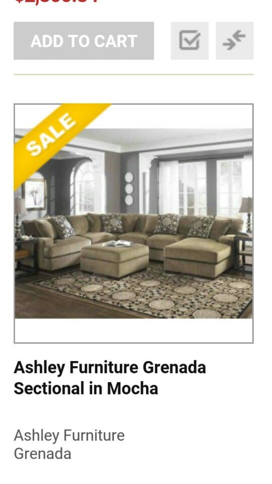 7970018 in by Ashley Furniture in St Johns NL - Sofa Chaise | Living rm | Pinterest | Living rooms and Room  sc 1 st  Pinterest : grenada sectional ashley furniture - Sectionals, Sofas & Couches
