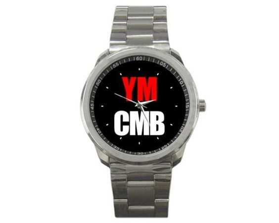YMCMB Lil Wayne Young Money Sport Metal Watch-983
