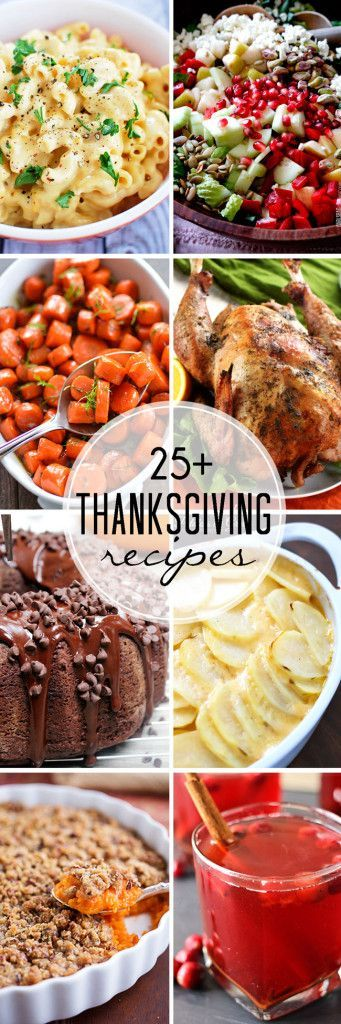 A one stop shop for all your Thanksgiving needs to make the prep easy and the meal delicious! Over 25 Thanksgiving recipes including sides, pies, turkey and more!