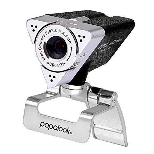 Webcam, 1080p HD High Definition Kamera PAPALOOK PA187 mit eingebautem Mikrofon für PC, USB Anschluss, geeignet für Skype, Internet Chat, YouTube usw., Plug & Play Videoaufzeichnung für Laptop/PC, kompatibel mit Windows XP SP2 / Vista / 7 / 8 / 10, http://www.amazon.de/dp/B01IMRB4VQ/ref=cm_sw_r_pi_awdl_x_7Q81xbFFV3NJ2