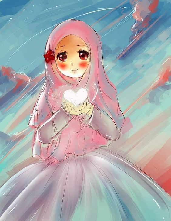 Pin By অনন য চঞ চল On Muslimah Cartoon Hd Photos Anime Muslimah Anime Muslim Islamic Cartoon