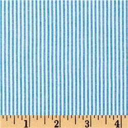 Classic Seersucker Turquoise/White -- #7.98;yard -- #livingroom #curtains #HeyMom,wannamakemesomecurtains?