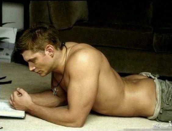 Jensen Ackles reading