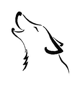 Pictures Of Simple Wolf Tattoo Designs Kidskunst Info