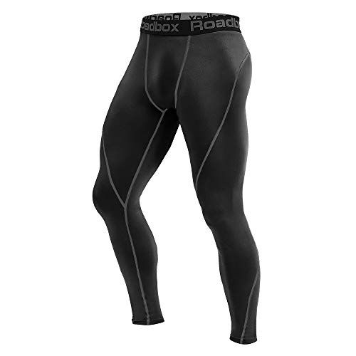 Men/'s Compression Running Legging Athletic Basketball Gym Spandex Pants Cool Dry