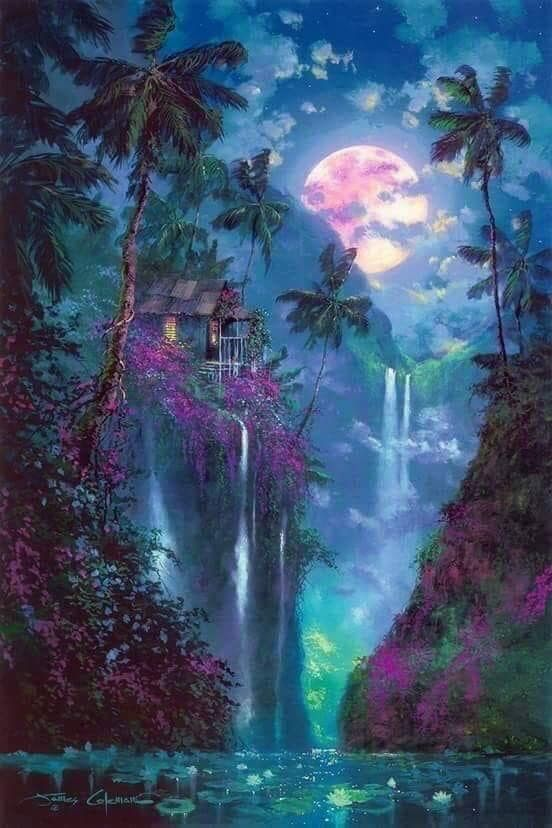 Pin By Wanda Smith On Beautiful Places Fantasy Landscape Beautiful Nature Landscape Art