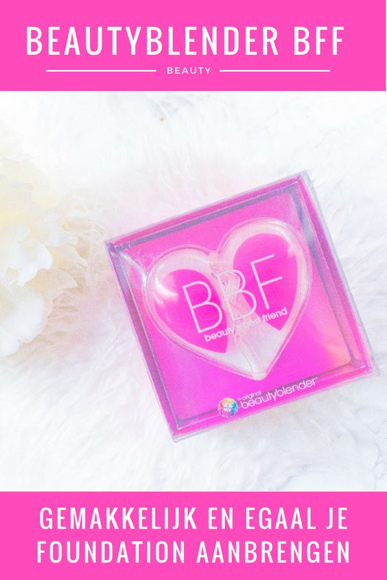 Ken jij de Beautyblender BFF al? Dit is een speciale Beautyblender variant die je cadeau kan doen aan je beste vriendin. Als je het mij vraagt een win-win situatie! Een mooie Beautyblender voor jou en een mooie Beautyblender voor haar! #bff #beautyblender #spons #makeup #makeupessential #beauty #foundation #applicator #melicious