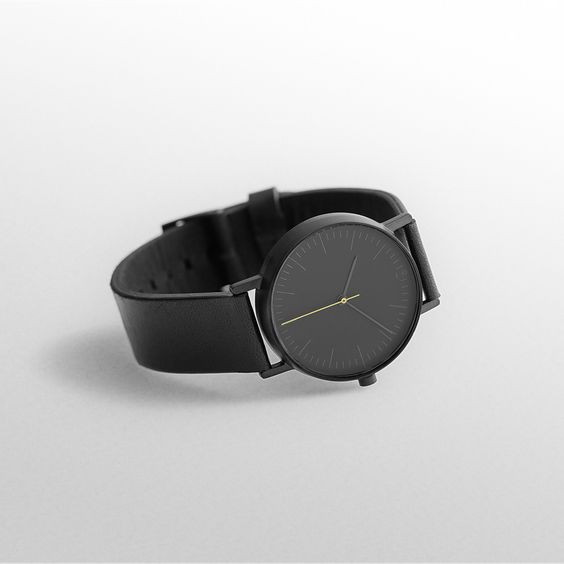 Beautiful Minimal Chic And Black Watches On Pinterest