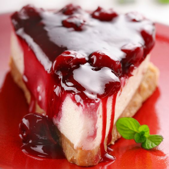 An easy non-bake cheesecake that your family will love.. Cherry Cheesecake Recipe from Grandmothers Kitchen.