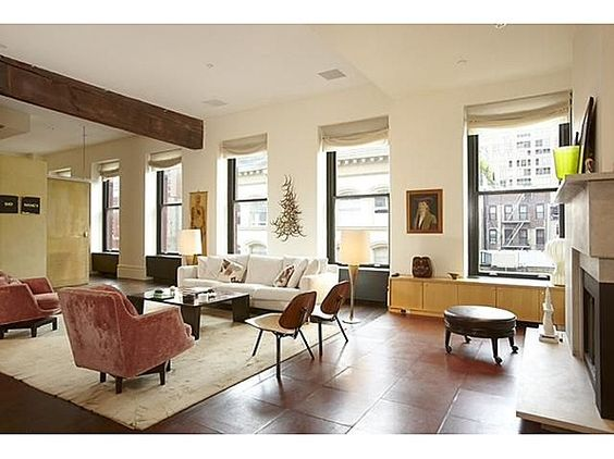 Claire Danes' SoHo Apartment Listed for $ 5.88 Million