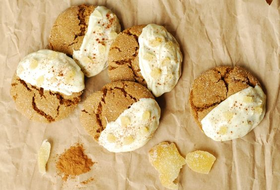 Soft Gingersnaps & Gingerbread Men - Cookies - Desserts - Recipe Index