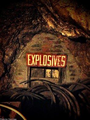 Explosives? Smuggler Mine, Aspen CO. Photo by #Toni Case #CMCIMEDA