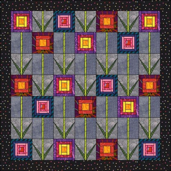 Peony Pomanders Quilt designs, Design and Wizards