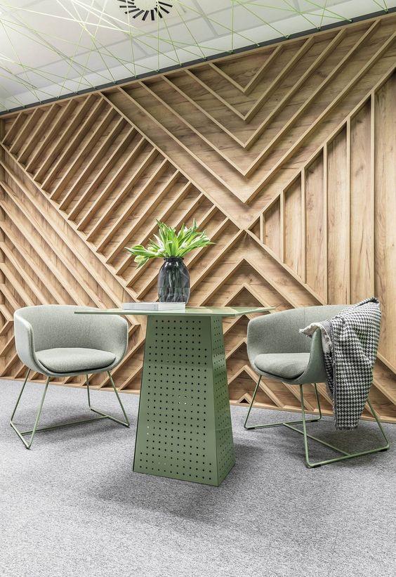 Embracing Wood Smart Acoustics And Cozy Aesthetics Shape Office