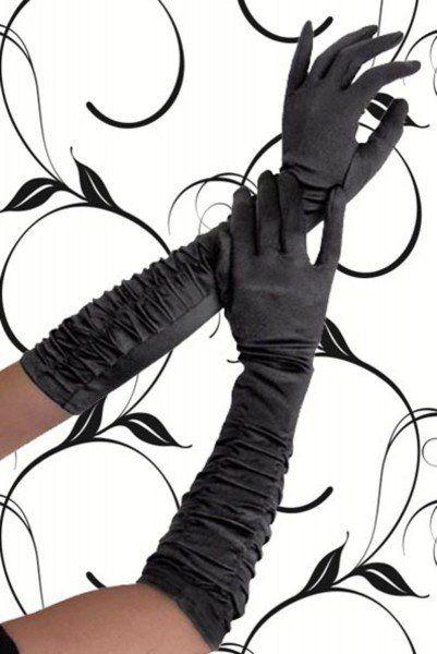 Satin Handschuhe