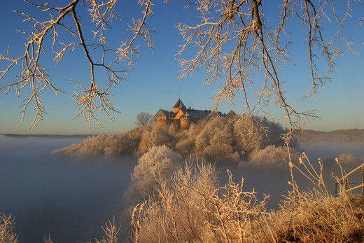 Waldeck, Germany- Hotel Schloss Waldeck auf Burg Waldeck am Edersee - Snow White Inspiration: Castles Palaces Germany, Castle Sababurg