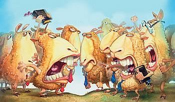 Cuando las ovejas se pelean— Tratando con el conflicto en la iglesia pequeña