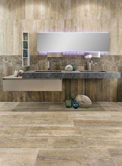 Ceramic tiles piastrelle in gres porcellanato effetto - Piastrelle effetto legno per bagno ...