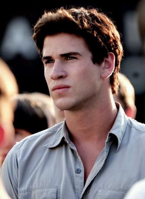 """Gale Hawthorne. """"He won't be shouting and cheering. But he'll be watching every moment, every twist and turn, and willing me to come home."""""""