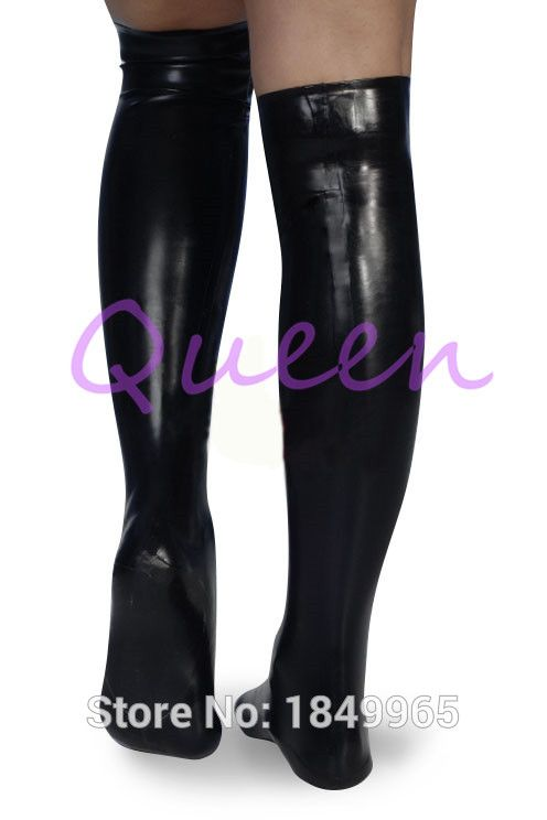 Latex rubber socks gummi 0.4mm socks catusit suit costume party hot sale