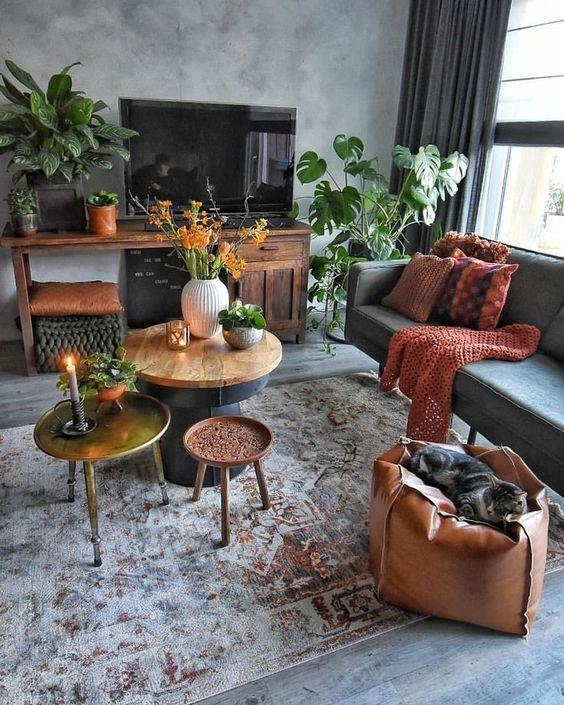 Sofa da TPHCM đẹp tuyệt cho mùa thu