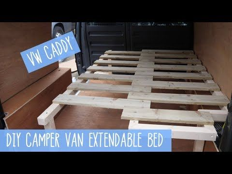 Day 23 Making A Pull Out Extendable Bed Part 1 Vanlife Vw T5