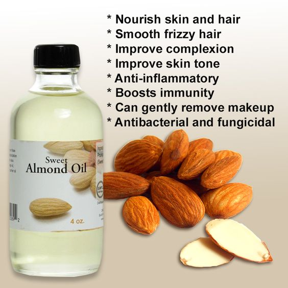 Pure Healing for Skin and Hair 100% pure sweet almond oil is famous worldwide for its healing benefits. Almond oil is a rich source of vitamin E, vitamin D and essential minerals that work to heal and nourish skin and hair. It's suitable for any skin type, no matter how sensitive and can be used alone or mixed with fragrance or essential oils to get the smell you want! Sweet almond oil is from India. 100% oure and cold Pressed.