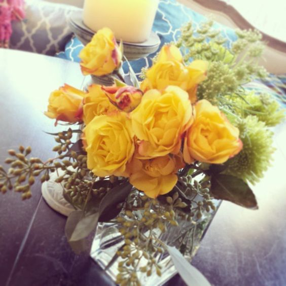 beautybysw's photo on Instagram 1st #yellowroses of my year. Welcome 2015