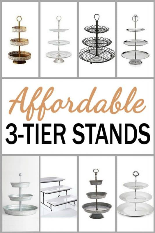 3 Tier Serving Tray Stands Beautiful Ideas To Decorate And Diy Serving Tray Decor Tiered Tray Stand Serving Tray Decor Centerpieces