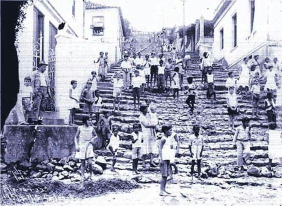 Morro de São Carlos 1930 - Rio de Janeiro - Brasil