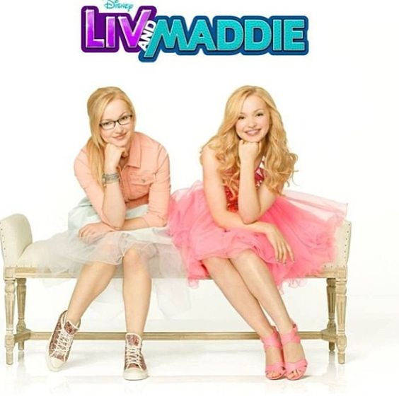 """Dove Cameron plays Liv and Maddie Rooney in the all new Disney show """"Liv and Maddie"""" good luck Dove!"""