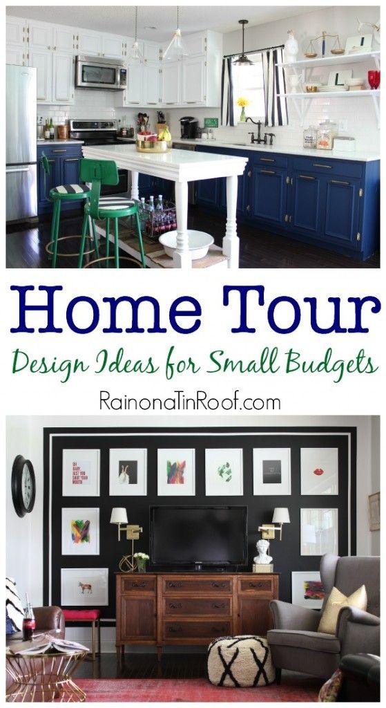 Home Tours | Kitchen Decorating Ideas | Living Room Decorating Ideas | Kitchen Makeover