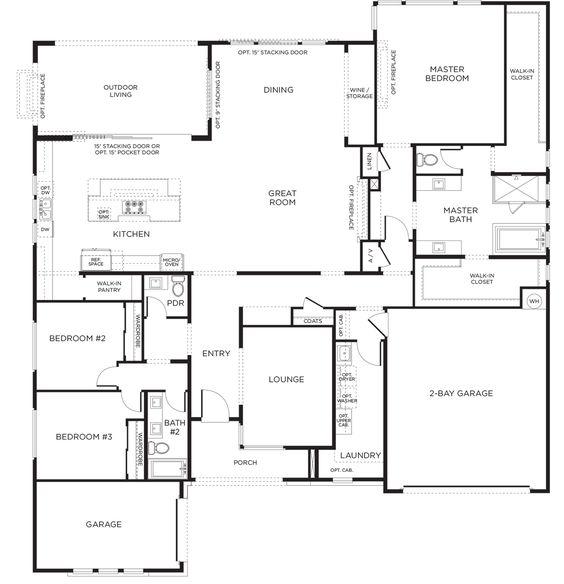 New escala plan 1b at inspirada in henderson nv 3 for Nv homes floor plans