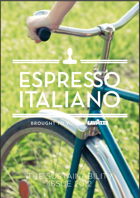 Latest issue of Espresso Italiano for Lavazza