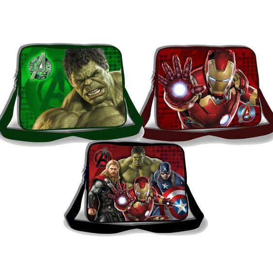 Marvel Avengers Age of Ultron Lenticular 3D Kids Messenger Bag - LuggagePlanet.com