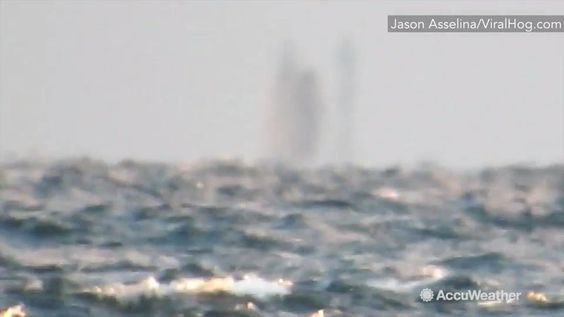 Oct 31, 2016; 11:18 PM ET Jason Asselin recorded this video of what looks to be a mysterious ship far off the coast from Marquette, Michigan.