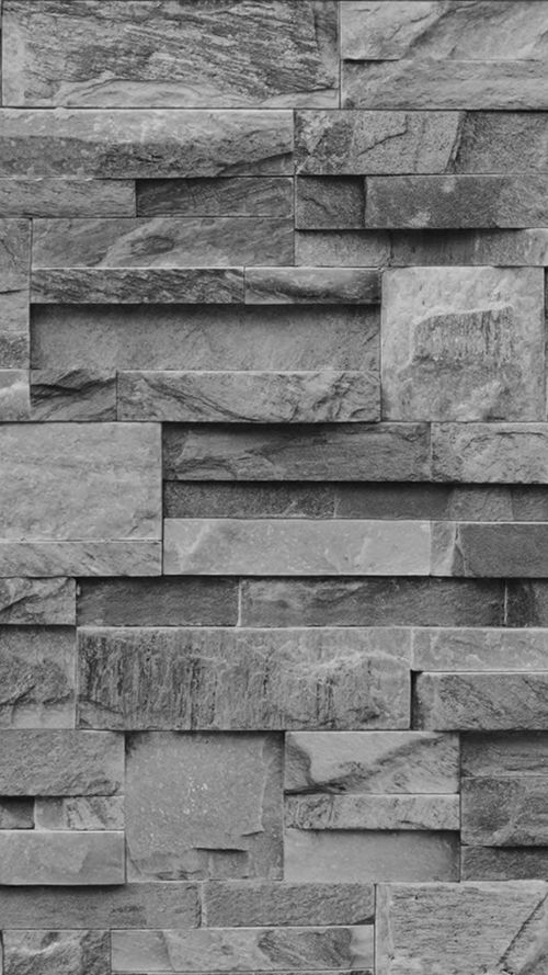 Photographic Slate Effect Wallpaper Charcoal Grey Slate Effect Wallpaper Stone Cladding Texture Stone Wall Design