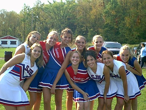 In 2001, some students decided to form a cheerleading squad...for the soccer team!