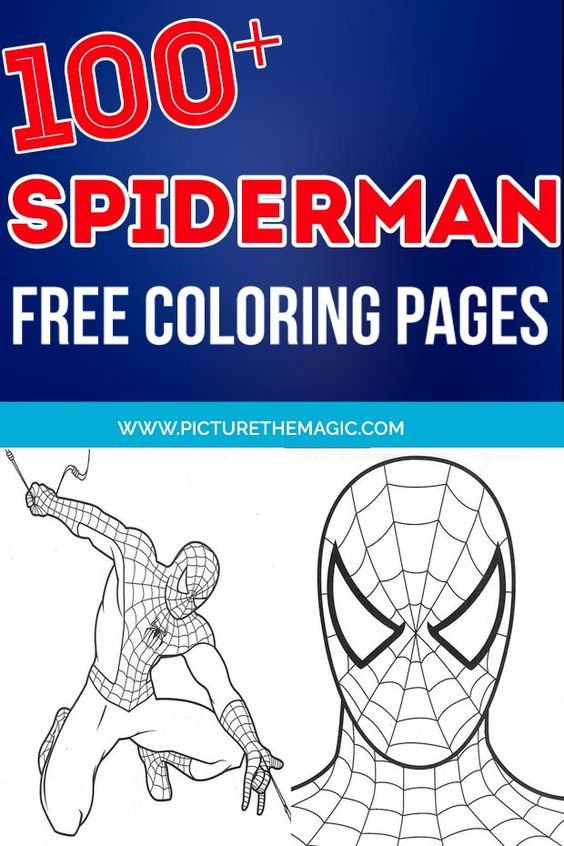Spiderman Coloring Pages Here Are The Top 25 Spiderman Coloring Pages That You Can Let Him Ch Spiderman Coloring Coloring Pages For Boys Disney Coloring Pages