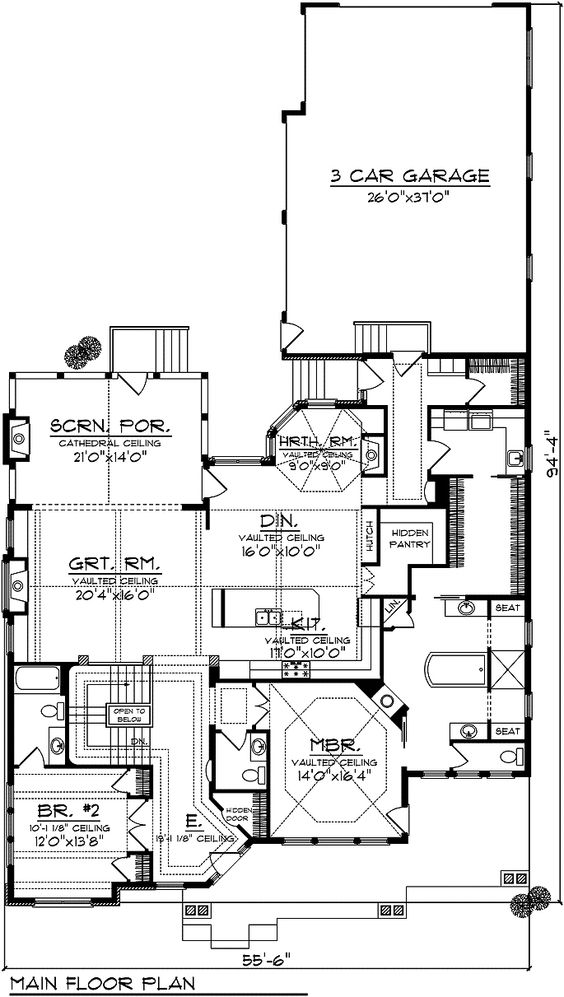 House Floor Plan for     Ranch House Plans  Not crazy about    House Floor Plan for     Ranch House Plans  Not crazy about all