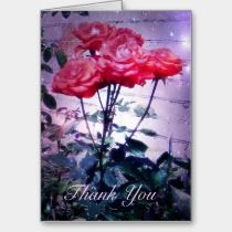 Red Roses Card cards