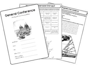 General Conference packets