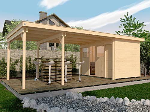 Weka Lounge Haus 225 B Gr 1 Natur 21 Mm Schiebetur Lounge 450 Cm Ohne Rw Amazon De Garten Weka Gartenhaus Gartenhaus Gartenhaus Holz