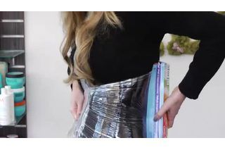 How to Make a Slimming Body Wrap at Home (with Pictures) | eHow
