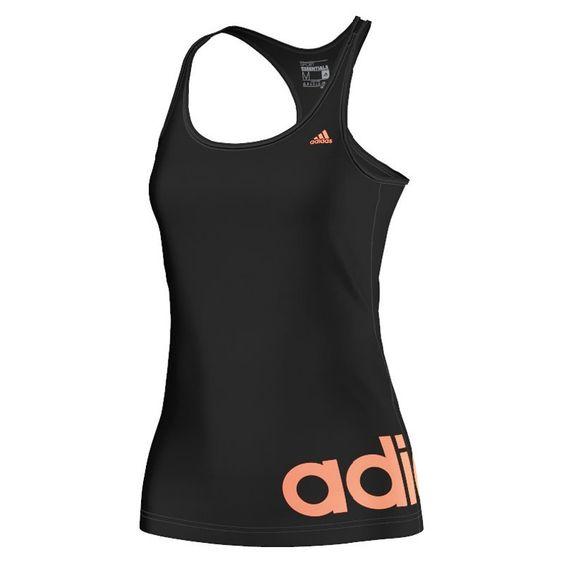 adidas Essentials Linear Tank | Laufshirts | Damen | 21run.com #adidas #laufen #top #schwarz #21runcom