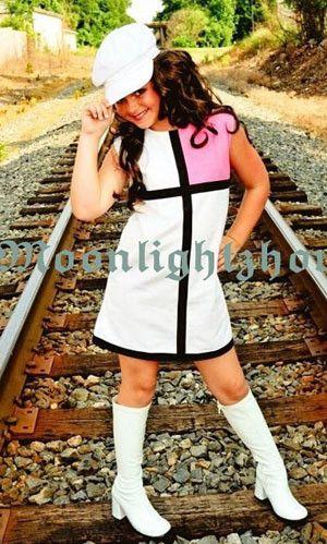 Girls baby dress Splice white + red skirt cute dress princess dresses kids girl children Mixed color tcq 004 - s4