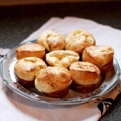 Queso Fresco Popovers - my family went nuts for these. Came together in two minutes, baked in 20. Perfect for weeknight meals!