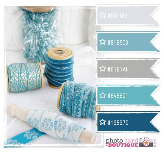 Ribbons: Color Palettes, Bathroom Colors, Color Inspiration, Color Combos, Colour Inspiration, Color Palette Blue, Blue Colors, Colour Palette